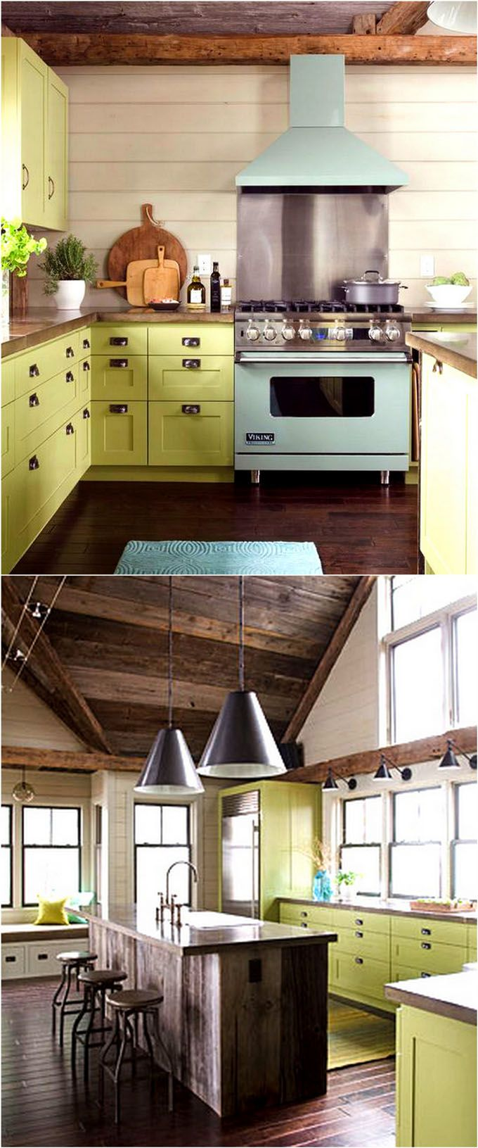 25 gorgeous kitchen cabinet colors paint color combos hometalk rh pinterest com