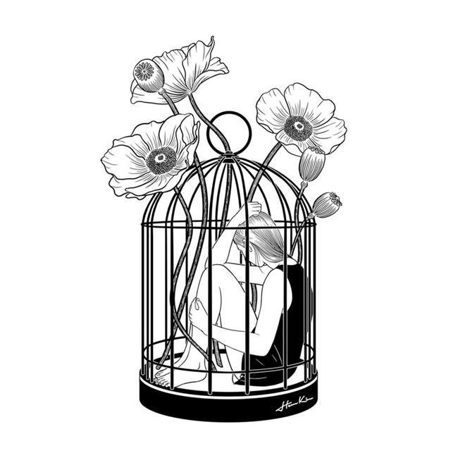 Duygularınıza Dokunacak 20+ İllüstrasyonu ile Size Aşkı Anlatan Sanatçı ile Tanışın #skizzenkunst