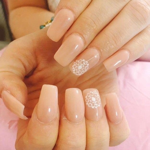 17 design ideas for long and short square nails nails nail rh pinterest com