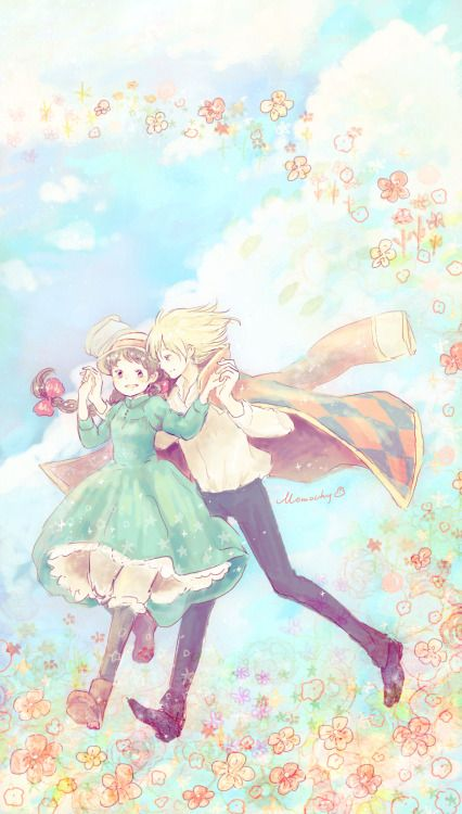 Howl S Moving Castle Momochy Gallery ジブリ イラスト イラスト ジブリ イラスト かわいい