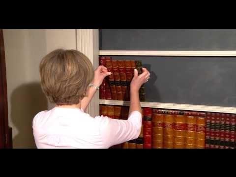 Libros falsos: cómo hacer una puerta secreta con libros falsos - YouTube