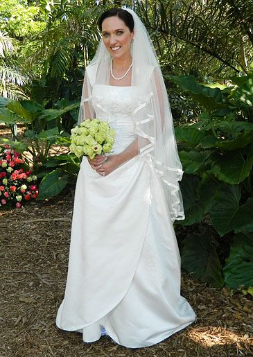 Dress: Maggie Sottero #FourWeddings #Weddings