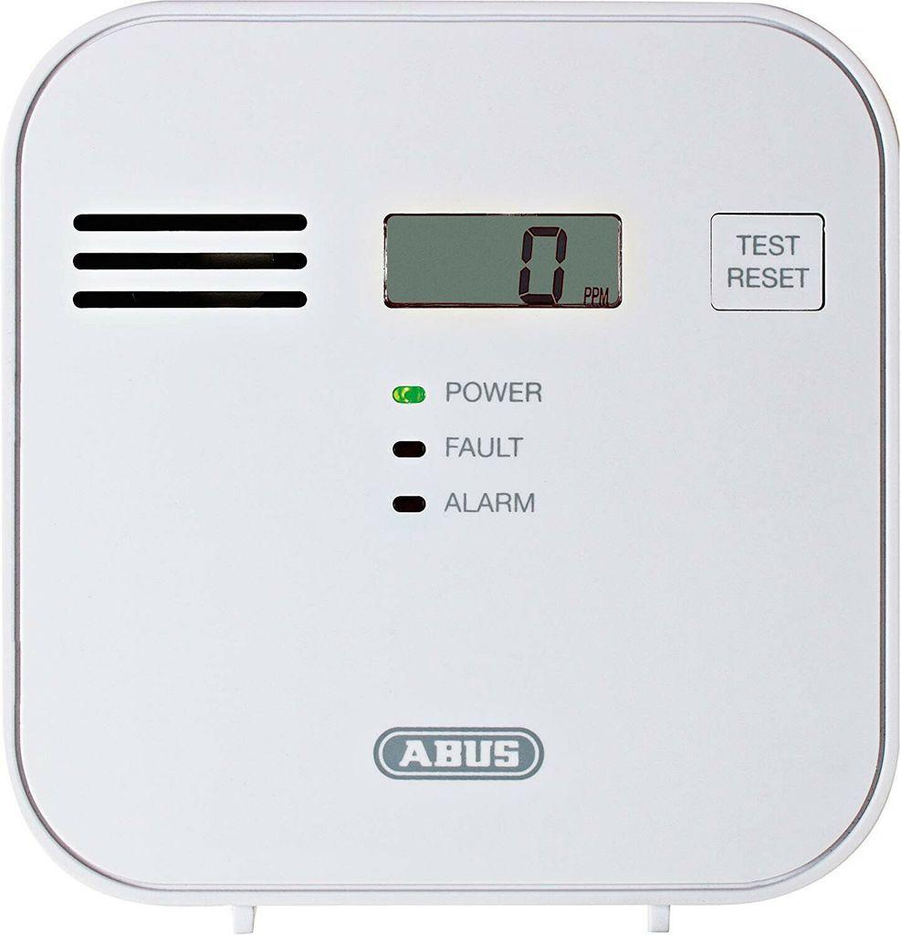 Abus 37241 Cowm300 Kohlenmonoxid Warnmelder Co Melder Lcd Display Pruftaste Kohlenmonoxid Heizungsanlagen Gute Bucher