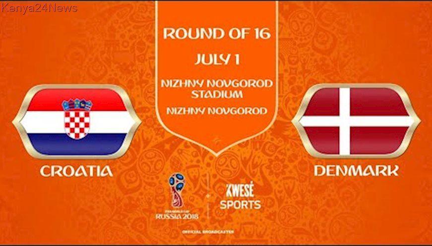 Highlights 2018 Fifa World Cup Last 16 Match 4 Croatia Vs Denmark World Cup Semi Final Fifa World Cup World Cup
