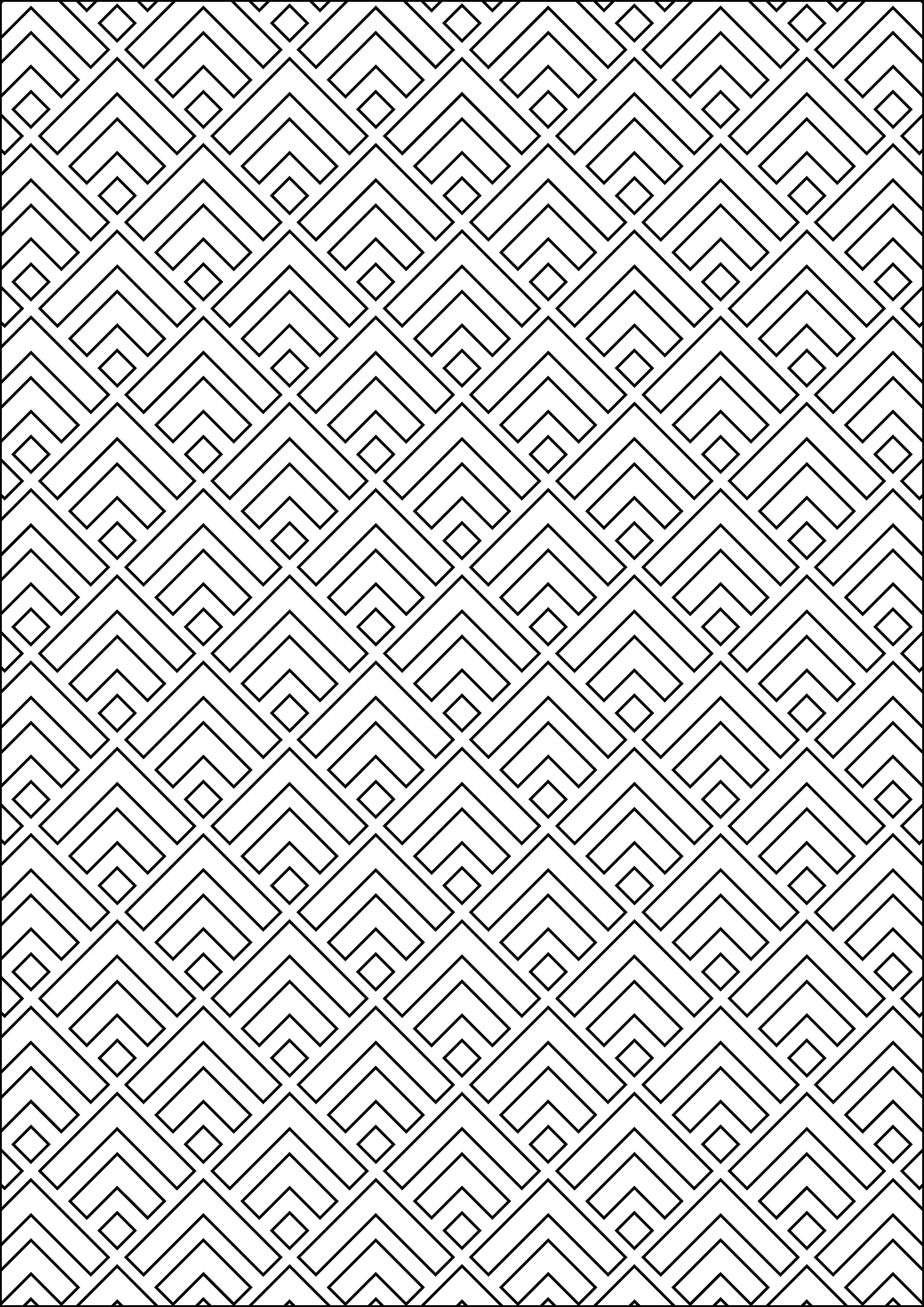 Geometric Pattern A Coloring Page Pattern Coloring Pages Geometric Coloring Pages Geometric Stencil
