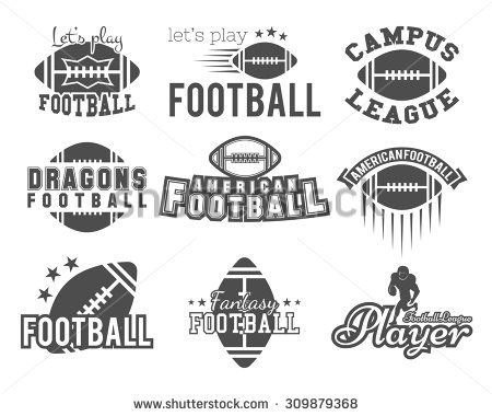 College rugby and american football team badges cfb046825
