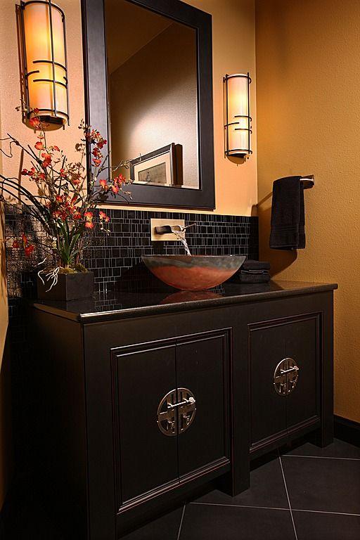 Asian bath cabinets