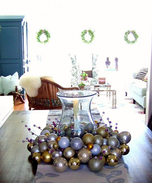 what to do w/ all those extra ornament balls ring christmas bells