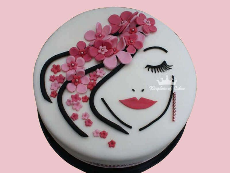 Sensational Buy Designer Womens Day Theme Cakes Online Same Day Delivery In Birthday Cards Printable Nowaargucafe Filternl