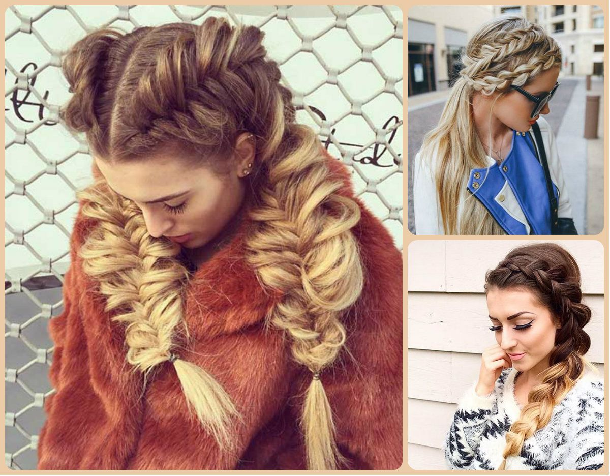 awesome Modern and Classy French Braids Hairstyles // #braids ...
