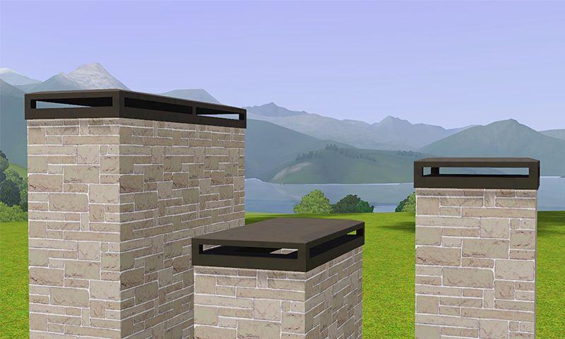 Amazing Gelinau0027s Sims 3 Blog: Decorative Chimney Caps