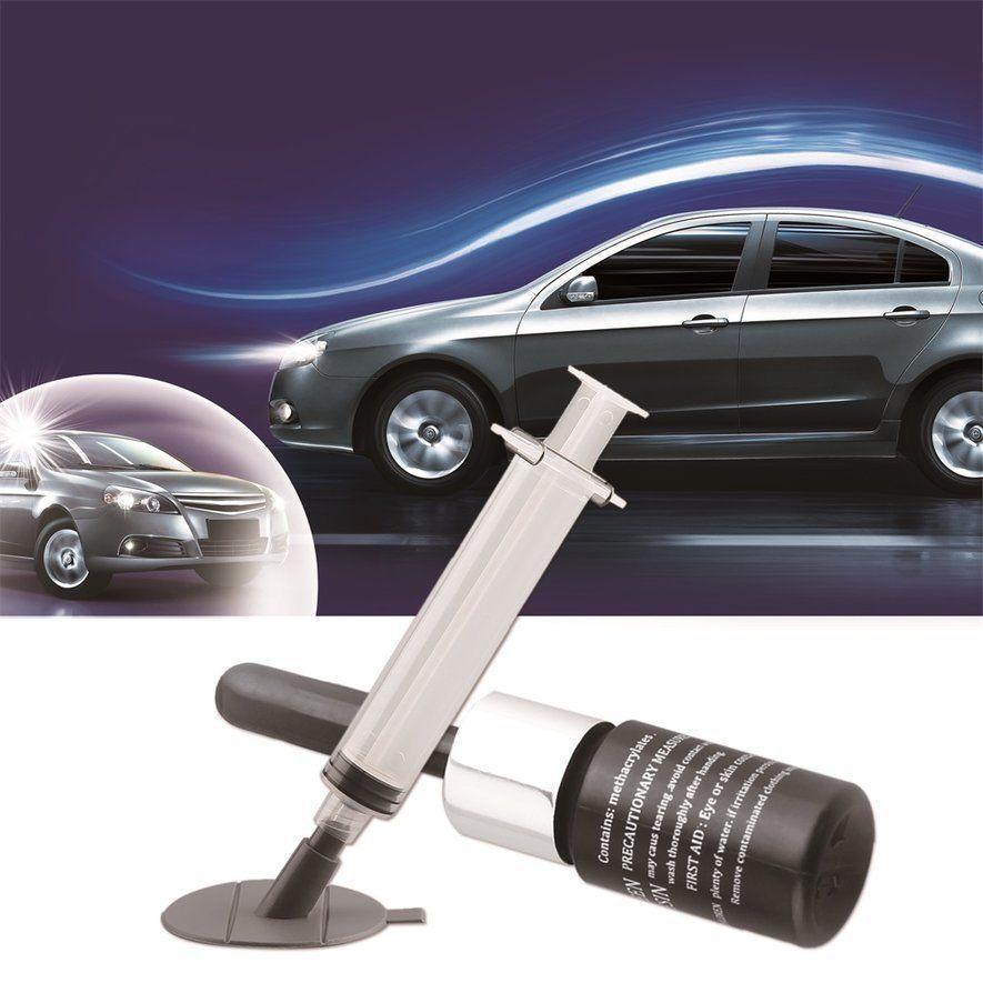 3 72 car kit glass windscreen windshield repair tool glass crack rh pinterest com