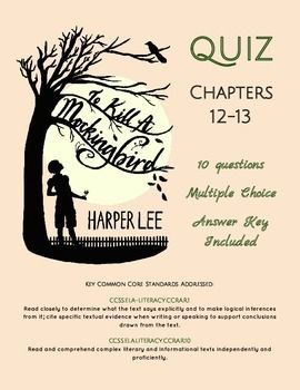 to kill a mockingbird chapter 12 questions and answers