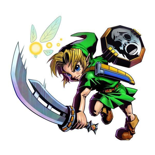 The Legend Of Zelda Majora S Mask 3d Official Artwork 3ds