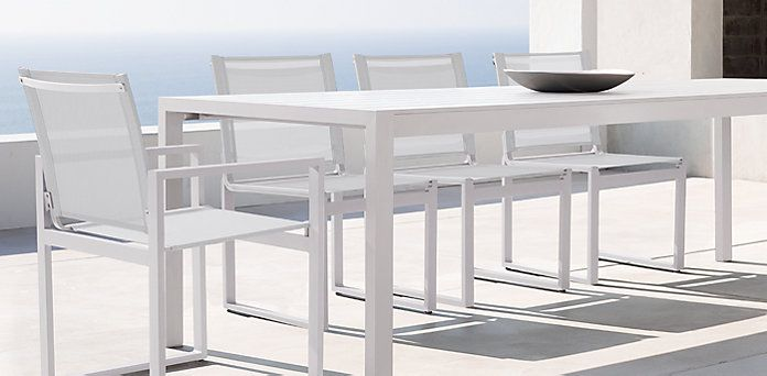 Aegean Outdoor Collection Harbour White | Restoration Hardware