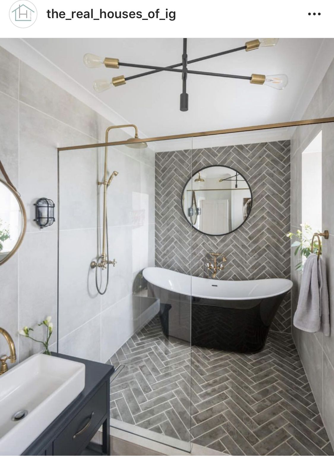 I M A Huge Fan Of This Layout When You Don T Have Enough Room In Your Bathroom To Put A T Master Bathroom Renovation Bathroom Interior Design Bathroom Interior