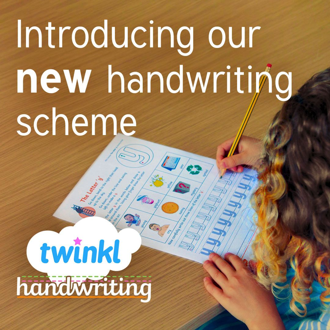 Our Innovative New Handwriting Scheme Can Help Your Class