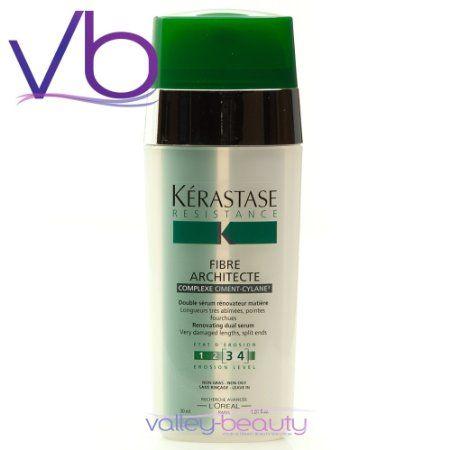 Amazon.com: Kerastase Resistance Fibre Architecte Serum Treatment 1.01 oz: Beauty