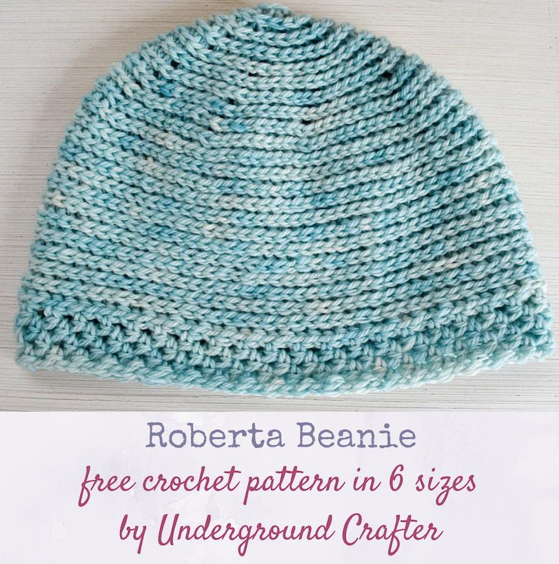 Roberta Beanie #slipstitch