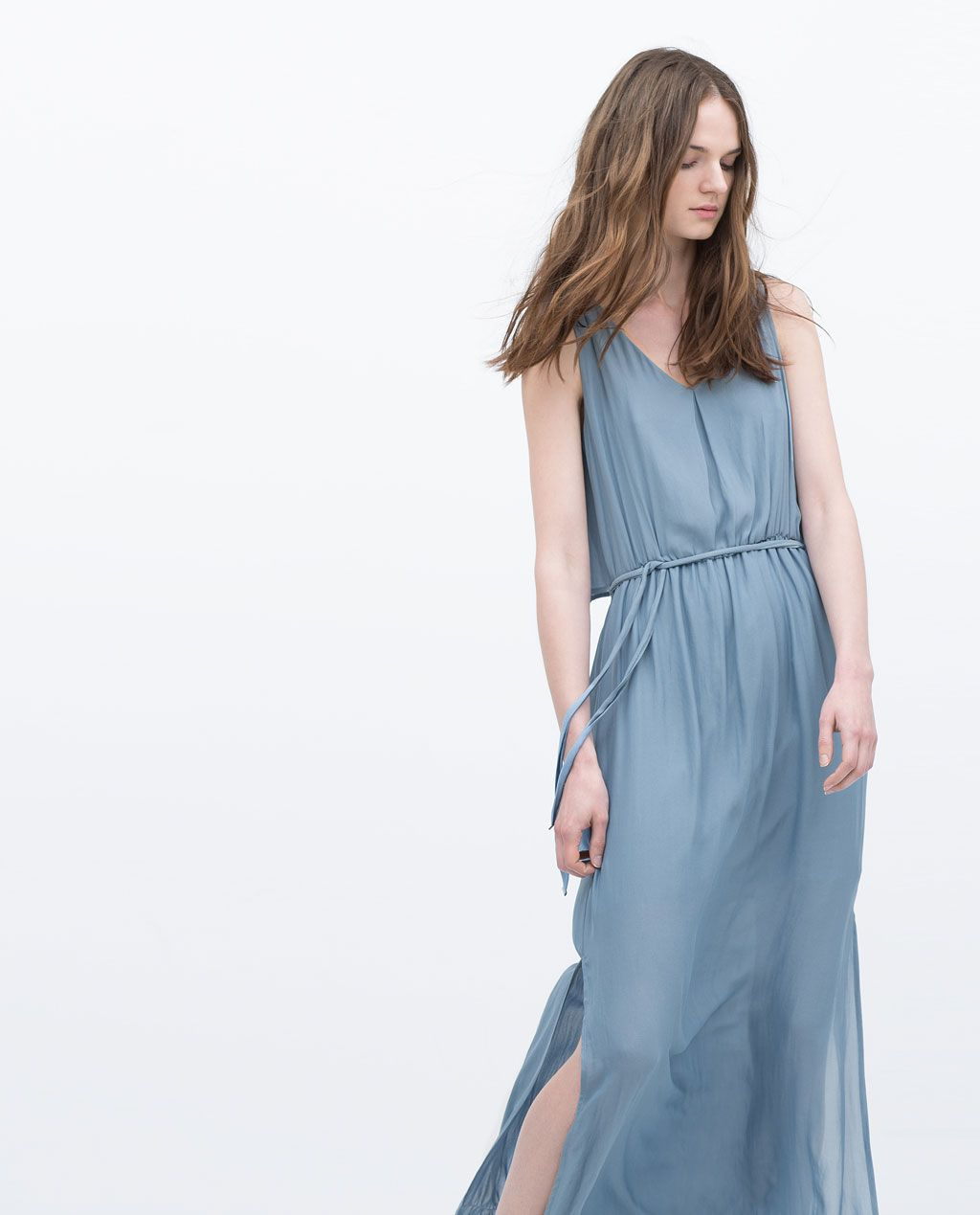LONG LAYER DRESS-Maxi-Dresses-WOMAN | ZARA United States | CLOTHING ...