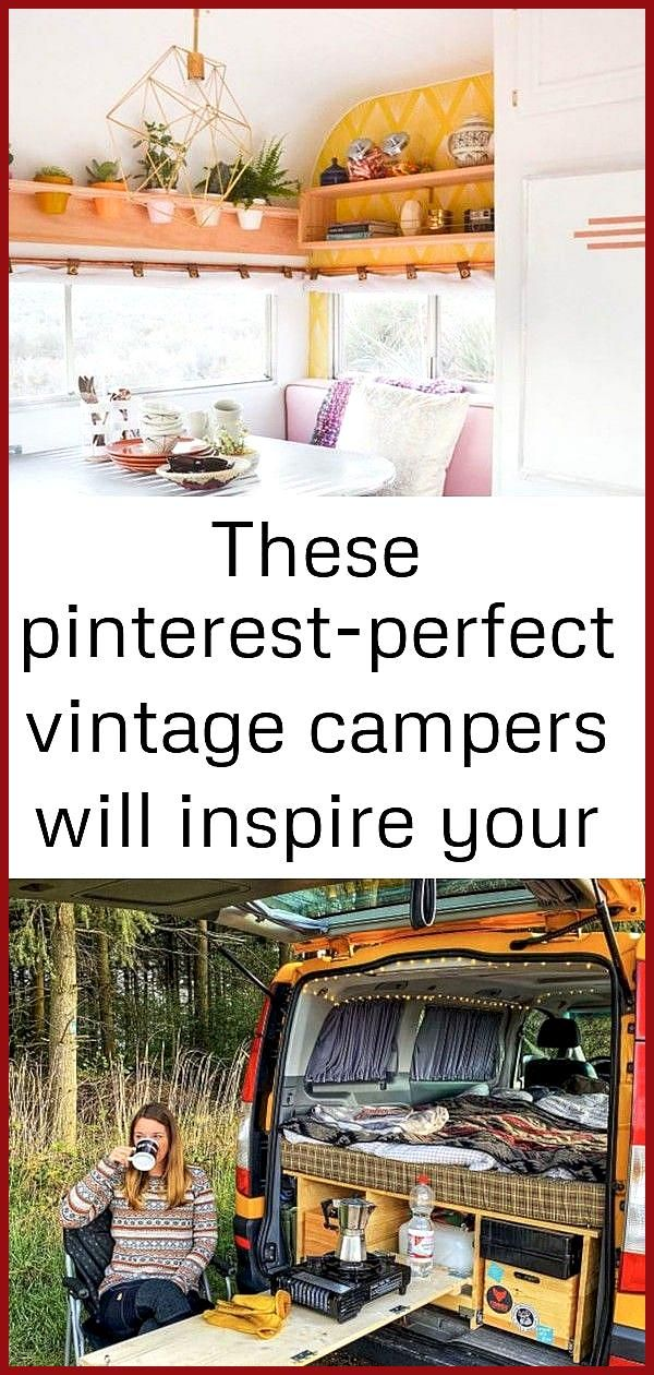 These pinterest-perfect vintage campers will inspire your next adventure 1 Vintage Trailer and Camp