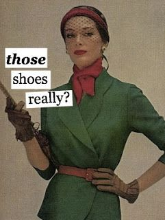 The bitchy housewife meme's. More on the blog... (simply style by aldo)