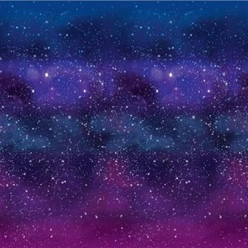 Galaxy Backdrop Outer Space Spaceship Science Star Party Plastic Wall Decoration
