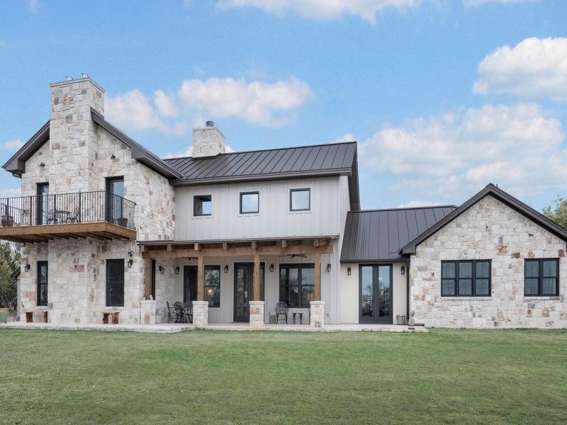 Hill Country Modern Custom Home Builder San Antonio Robare Custom Homes