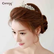 Korean Wedding Hairstyle 2015 Google Search Pengantin Perkawinan Inspirasi