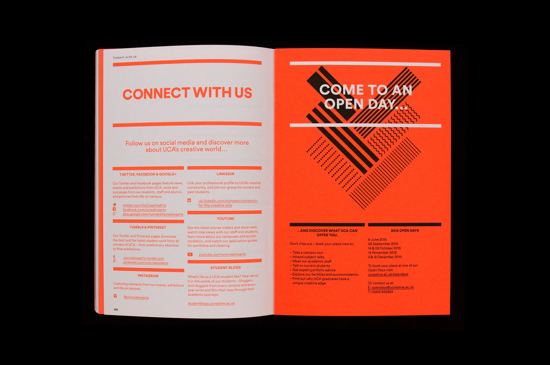university for the creative arts visual identity inspirations rh pinterest co uk