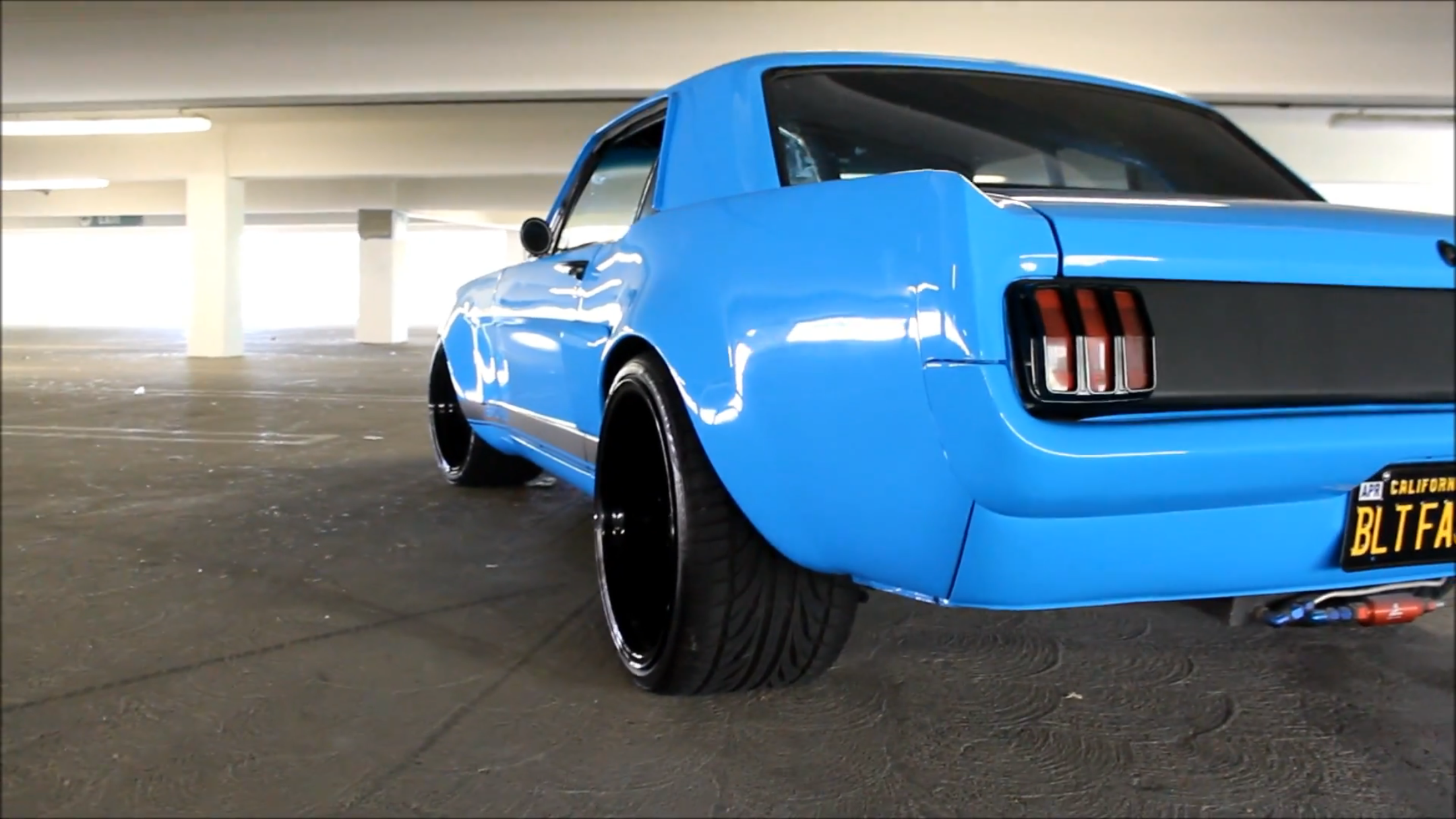 1966 mustang restomod wide body musclecars restomods pinterest rh pinterest com
