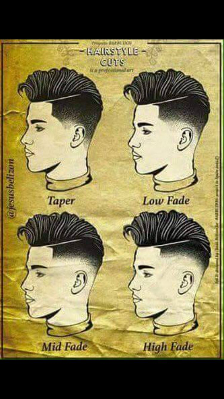 1000+ ideas about Taper Fade Haircuts on Pinterest | Taper