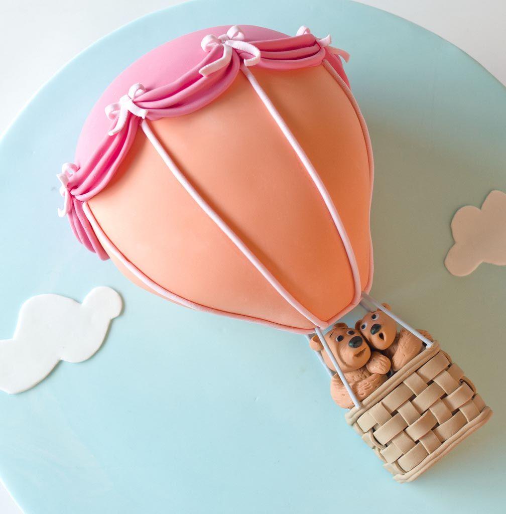 bear balloon cake