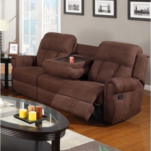 reclining sofa with drink holder couch sofa gallery pinterest rh pinterest com
