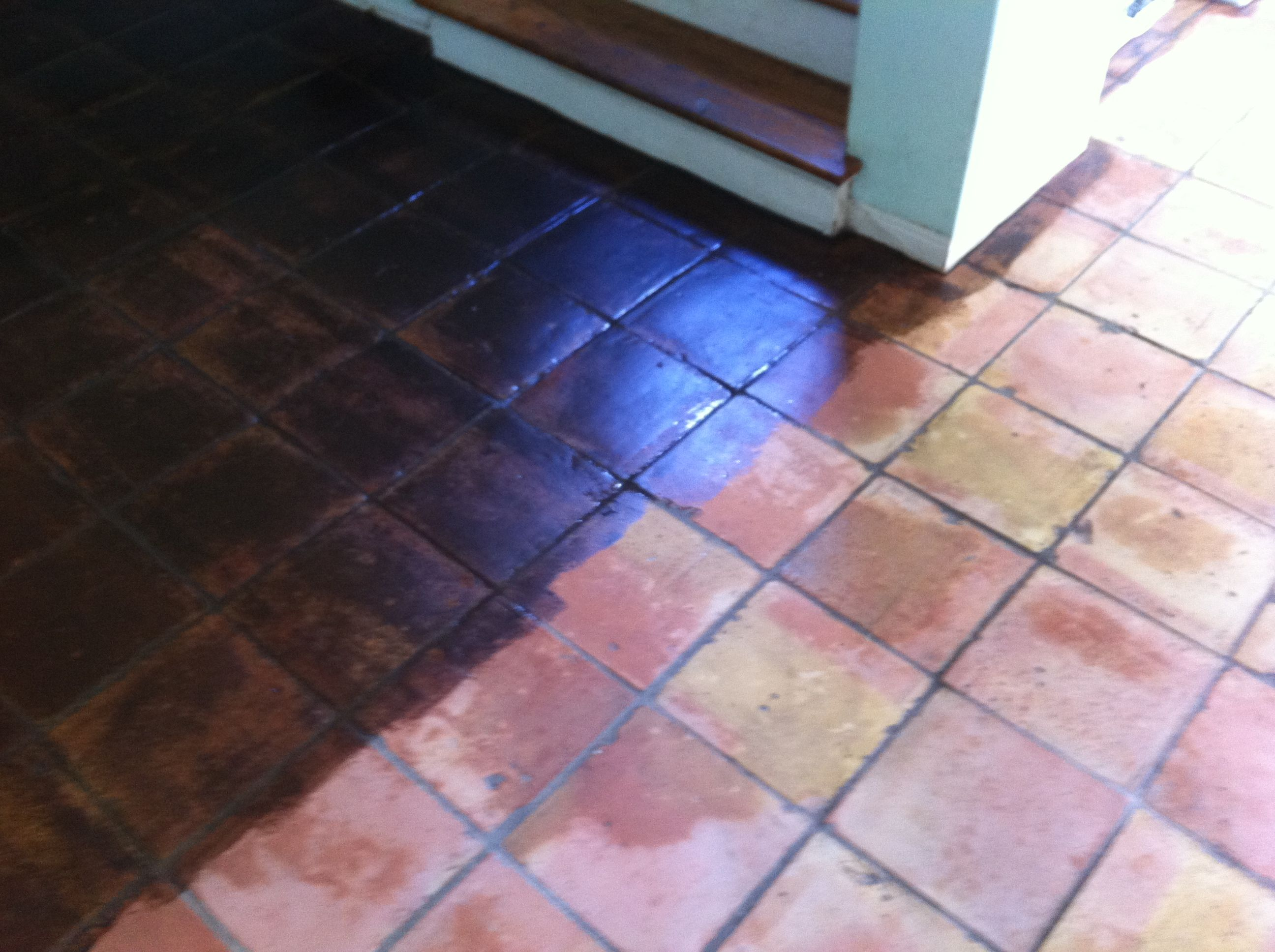 saltillo tile stain colors google