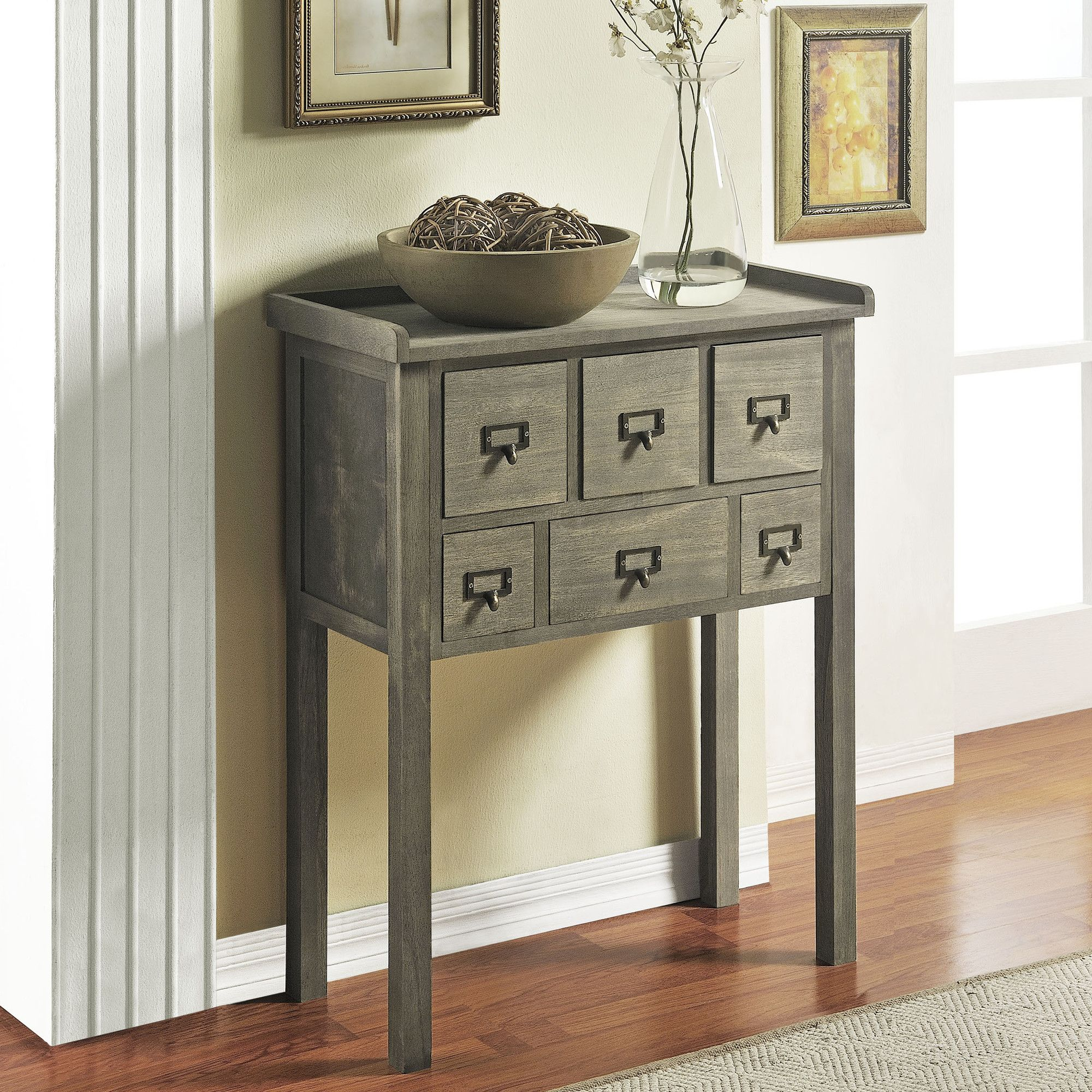 For my front hallway Altra Furniture 6 drawer