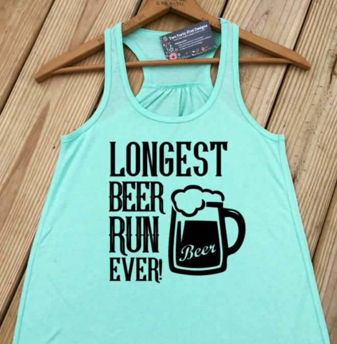 274c04915 Running Shirt, Funny Tank Tops Women, Beer Shirt, Drinking Shirt, Crossift,