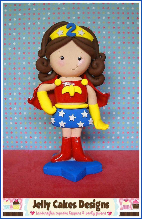 My Little Hero Keepsake Cake Topper By Jellycakesdesigns