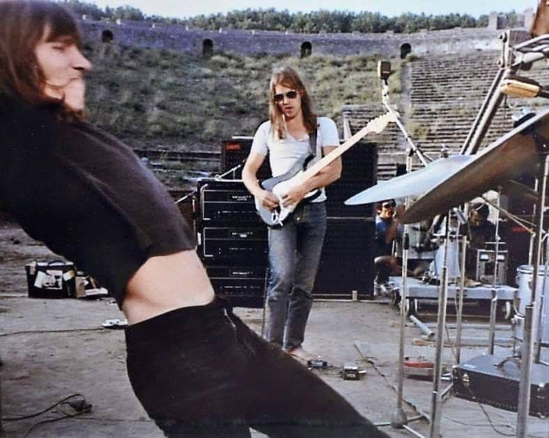 Pink Floyd Live At Pompeii Original Pink Floyd Live Pink Floyd David Gilmour