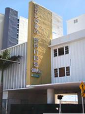 Mimo Architecture Golden Sand Hotel 6901 Collins Ave North Beach Resort Historic District Miami Florida