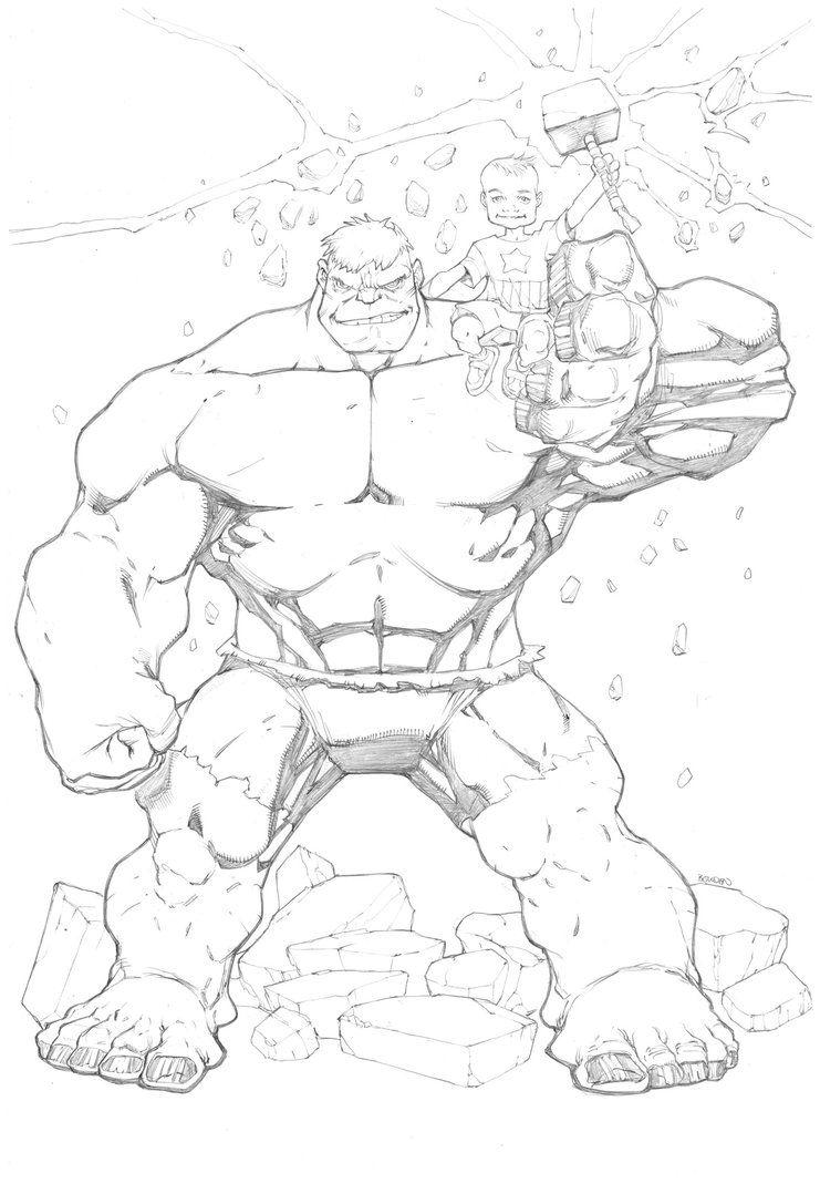 #Hulk #Fan #Art. (Hulk) By: Mikebowden. (THE * 5 * STÅR * ÅWARD * OF: * AW YEAH, IT'S MAJOR ÅWESOMENESS!!!™) ÅÅÅ+