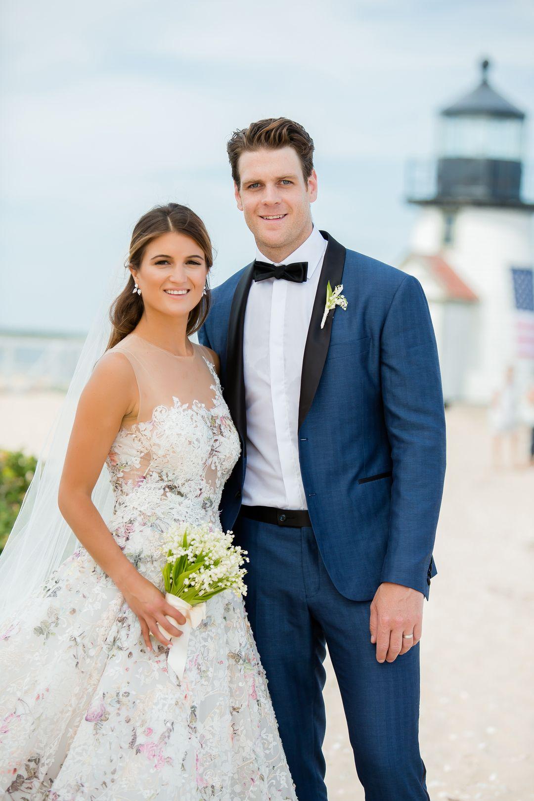 Mika And Joe Wedding.Vintage Outdoor Wedding At Great Harbor Yacht Club Nantucket Ma