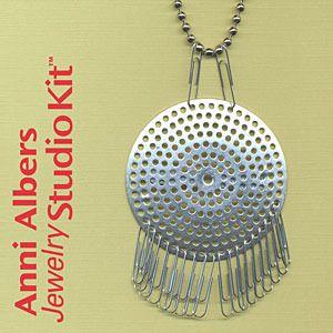 Anni Albers Necklace Kit 2 Bauhaus textiles, Necklace kits