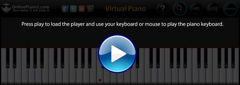 A Great Virtual Piano Site Music Pinterest Pianos