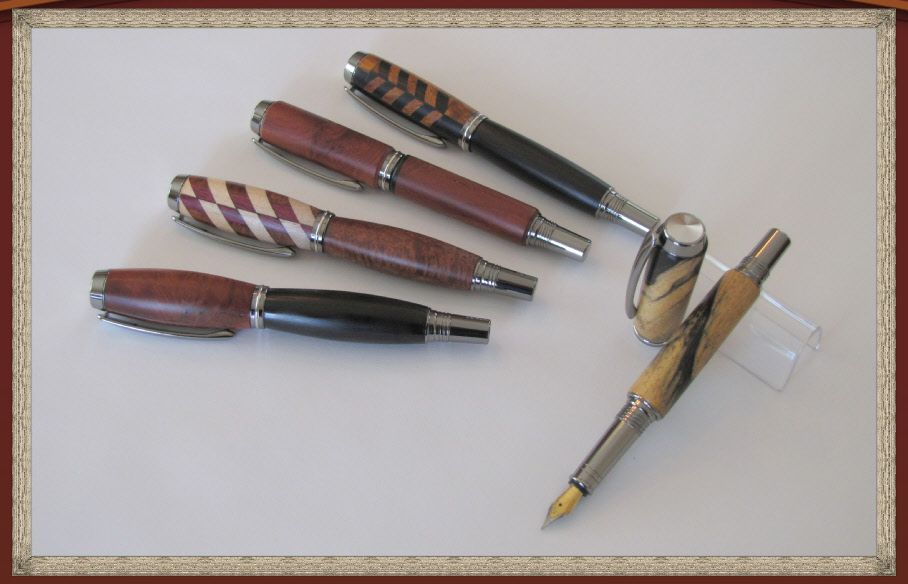 Fountain Pens as shown on my website