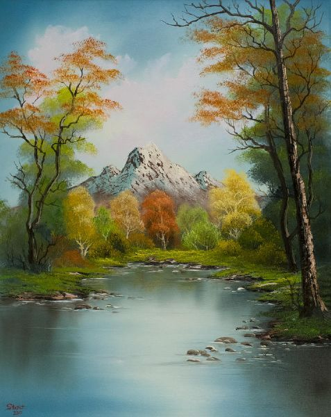 Bob Ross Paintings Google Search Water Colour Painting