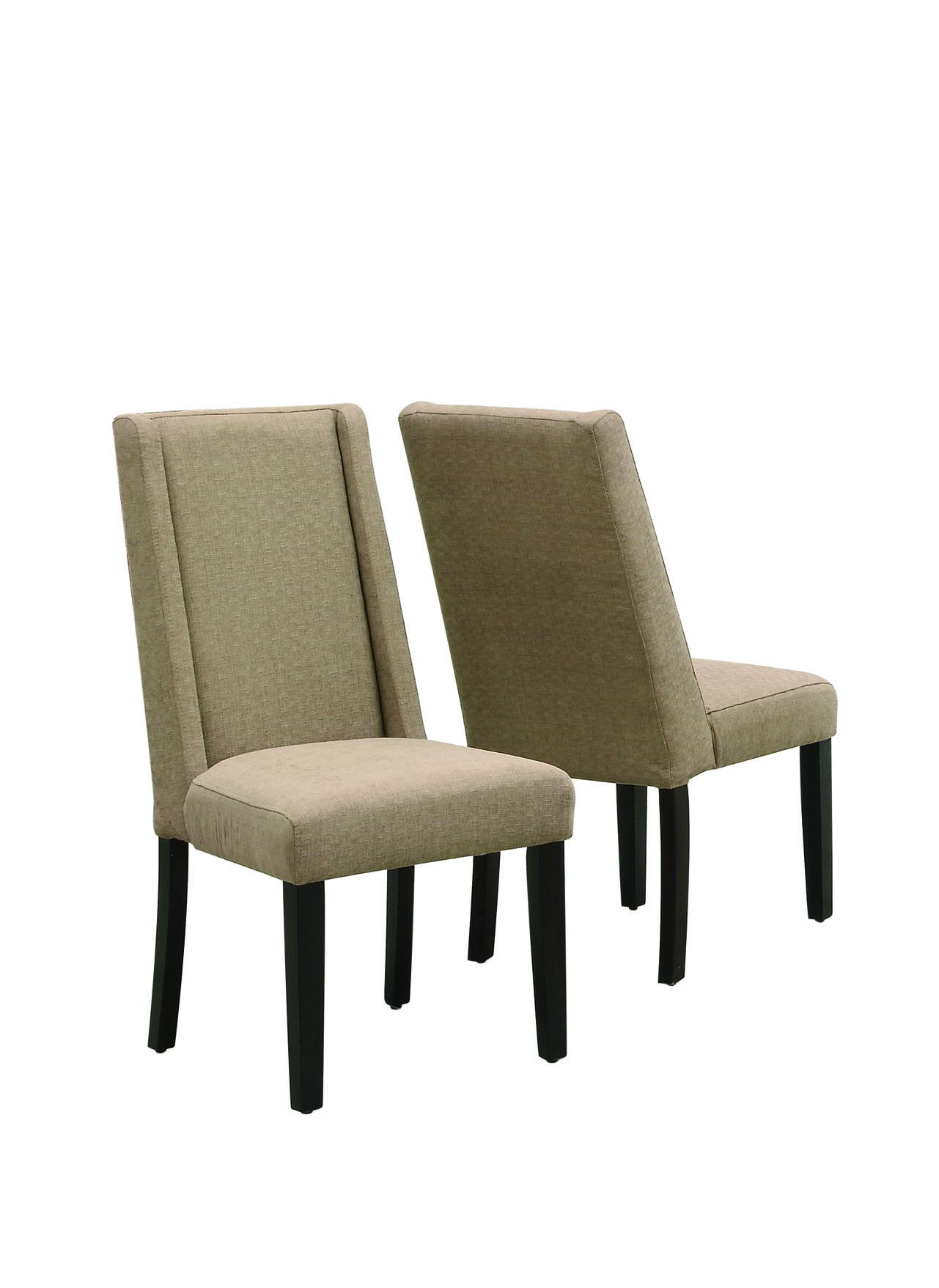 """Monarch Taupe Linen 40""""H Dining Chair / 2Pcs Per Carton - on sale now for $363 at Michael Anthony Furniture!"""