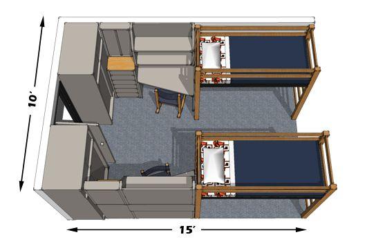 Best Dorm Room Layouts