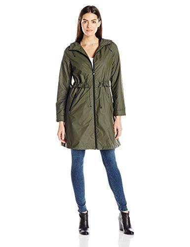 1b137a6b31669 Bernardo Women s Pu Rain Jacket