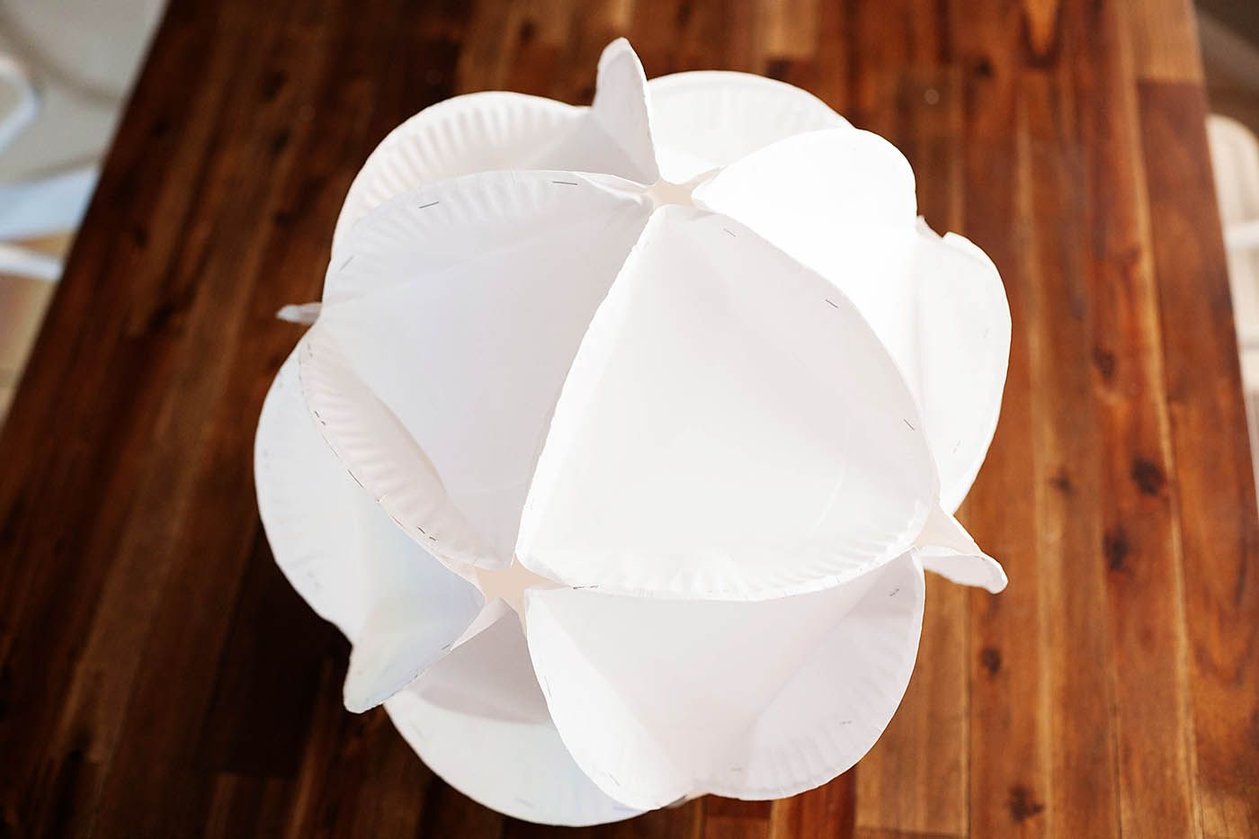 DIY Paper Plate Polyhedron - from All for the Boys blog & DIY Paper Plate Polyhedron - from All for the Boys blog | polyhedron ...